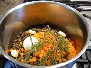 lentils at le tasting room