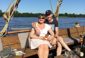 out on the river Loire
