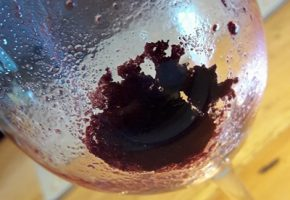 sediment in wine